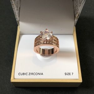 CHARTER CLUB Rose Gold Ring.